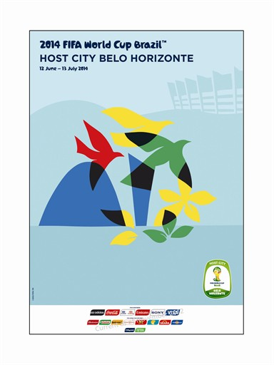 World Cup Poster Belo Horizonte
