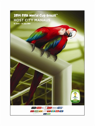 World Cup Poster Manaus