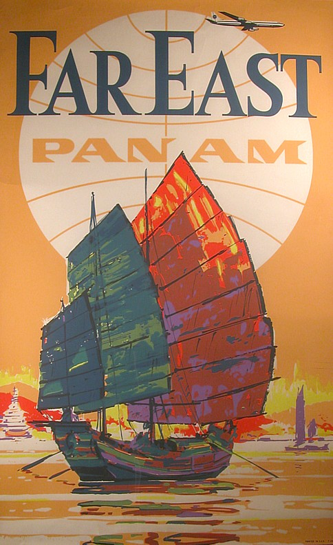 Pan Am travel poster 1970
