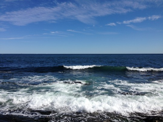 Atlantic Ocean at Cape Elizabeth Maine